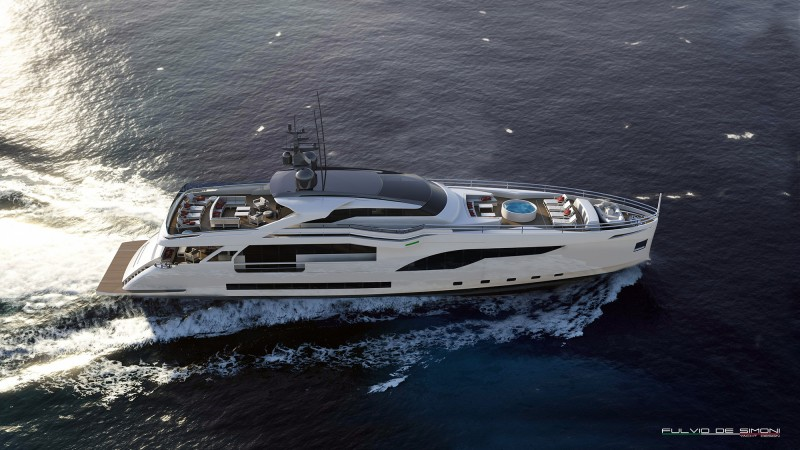 Yachts middle east - WIDER 125 exterior