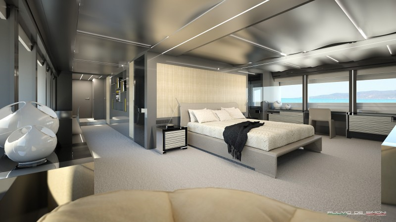 Yachts middle east - WIDER 125 interior - 1