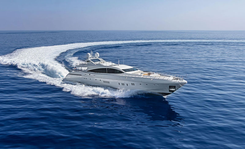Yachts middle east - CRN yacht
