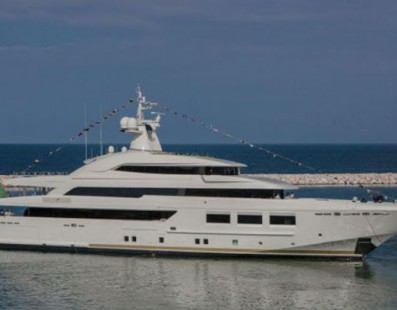 CRN launches M/Y CRN 133: 61 meter of Made in Italy built in Ancona