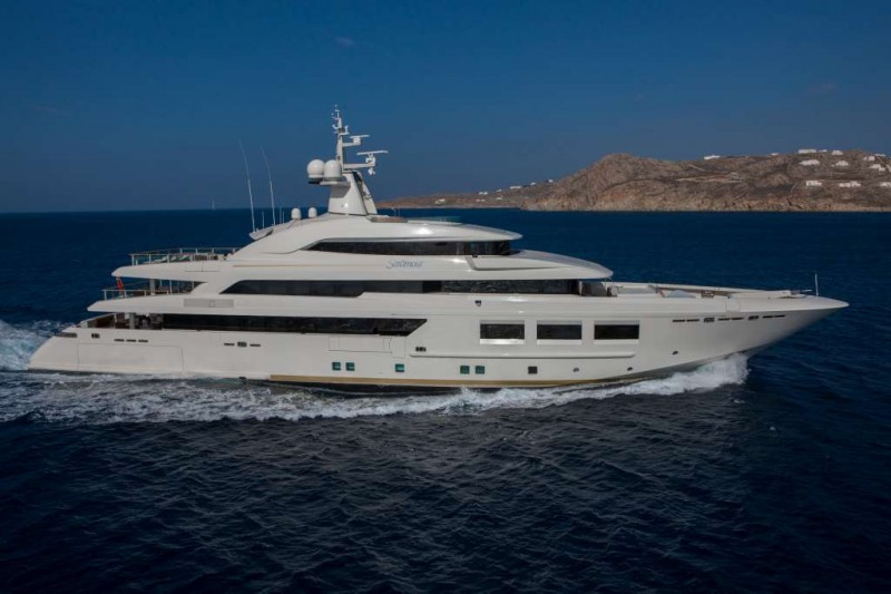 Yachts middle east - CRN Saramour 61mt