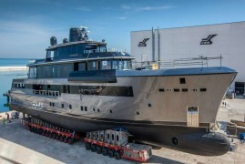 CRN presents its new design projects for 50m semi-custom megayachts