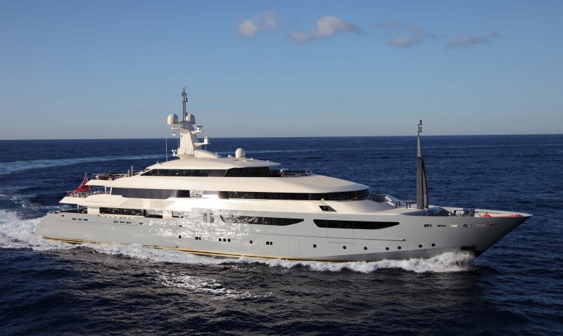 Yachts middle east - CRN yacht 72m
