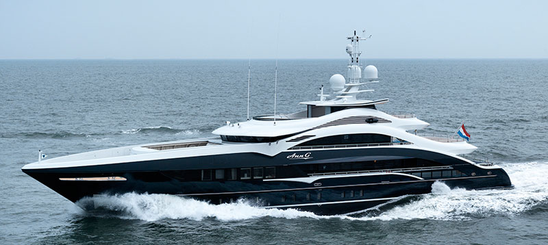 Yachts middle east - heesen - yachts