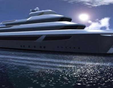 أحدث مفهوم يخت 54 متر فاخر SKUA54 المصمم من قبل Ira Petromanolaki من ستوديو IP.YD