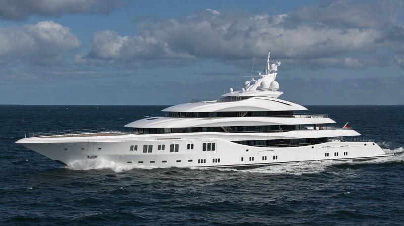 Yachts middle east - Lurssen - Orchid - Klaus Jordan