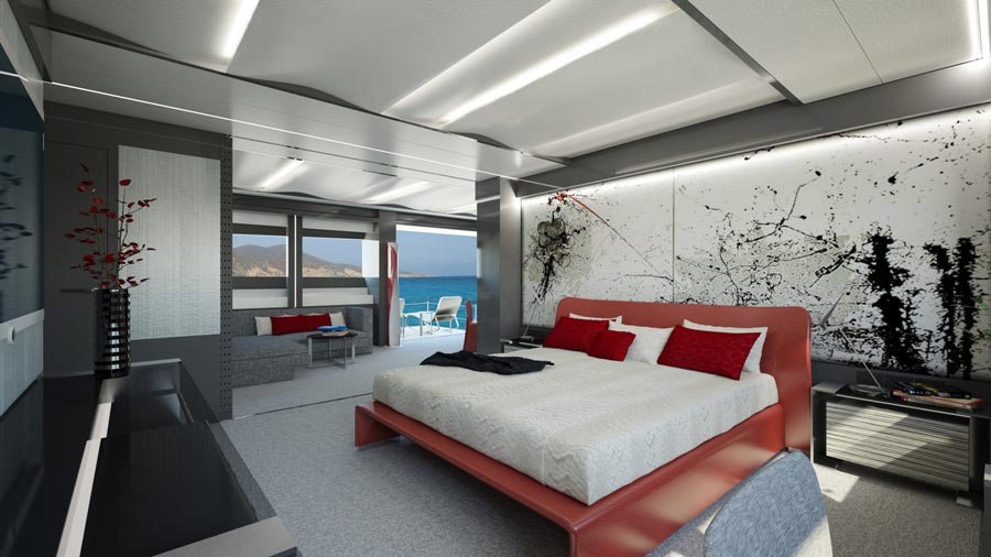 Yachts middle east -WIDER 165 - INTERIOR - CABINE