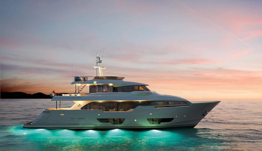 Yachts middle east - ferretti - custom line - navetta 28 - Genoa