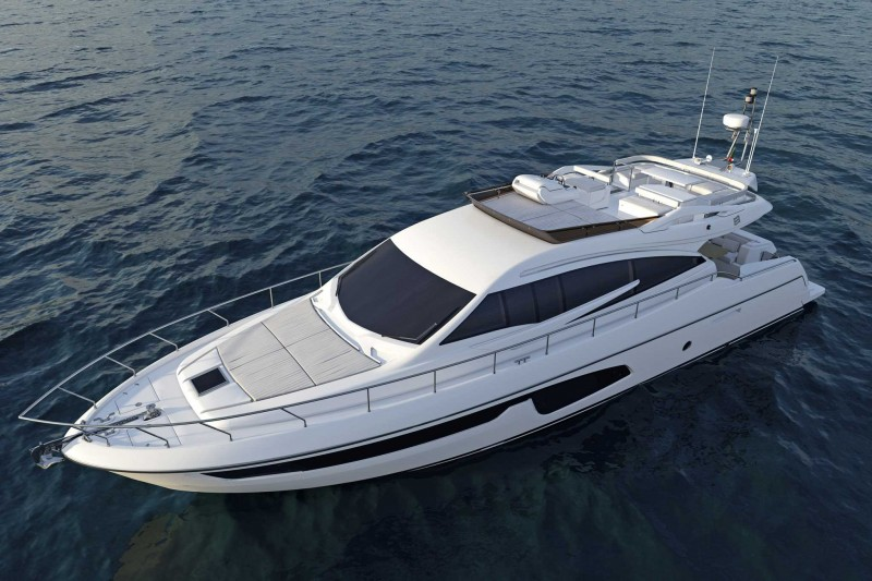 Yachts middle east - Ferretti group - yachts 650 - Miami