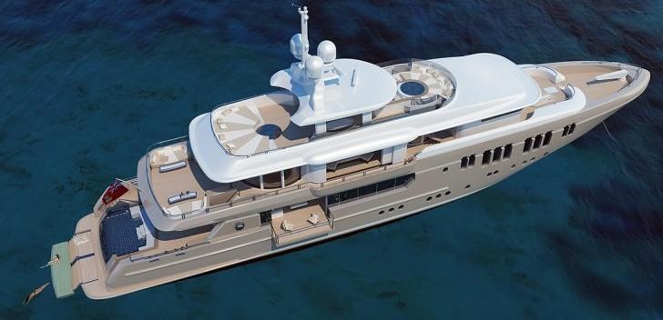 Yachts middle east - Sunrise yacht 50m