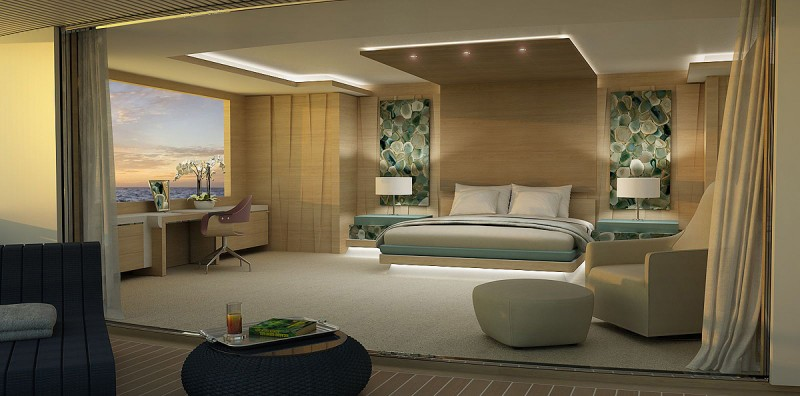 Yachts middle east - Sunrise yacht 57m - Interior