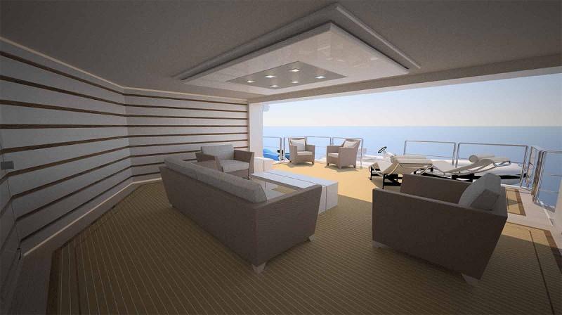 Yachts middle east - Sunrise yacht 68m - Interior