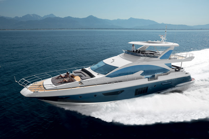 Yachts middle east -  Azimut - 80 - at cannes
