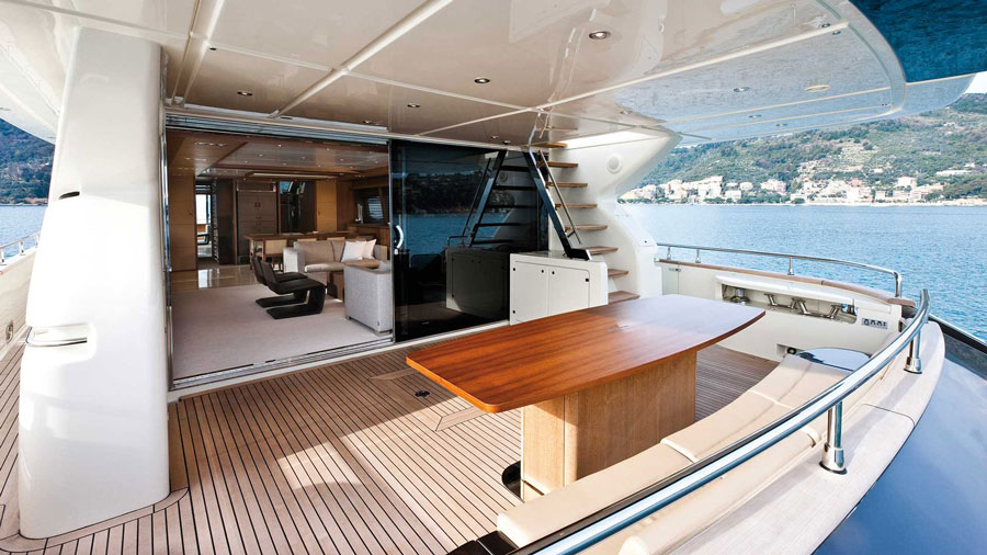 Yachts middle east - Riva - 92' Duchessa - 2