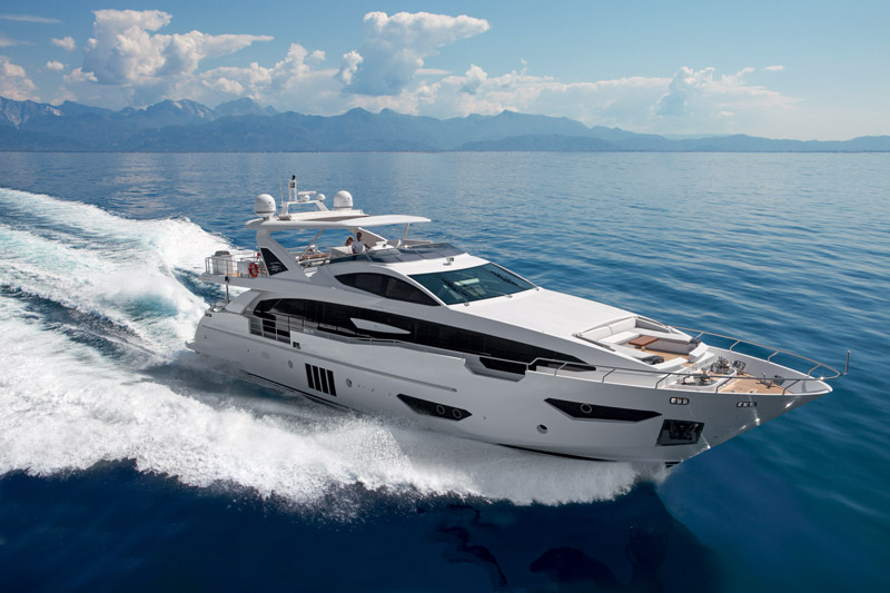 Yachts middle east - Azimut - GRANDE 95 RPH - at cannes