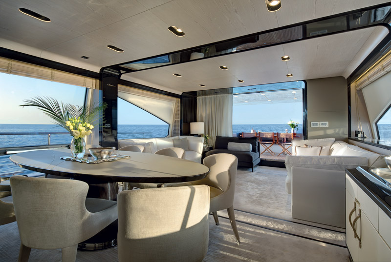 Yachts middle east -  Azimut - 80 - Interior - 1