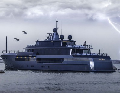 Less than a month until the launch of a new CRN mega yacht