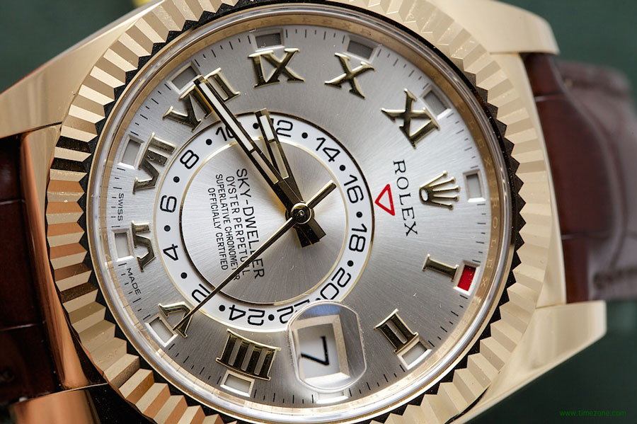 yachts middle east - life style - Rolex - Sky-Dweller - Rose - Gold - rose - dial - 1