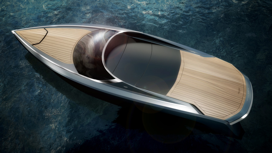 yachts middle east - aston martin - powerboat - top closed