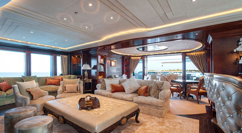 Lürssen presents Ester III at the Monaco Yacht Show 2015