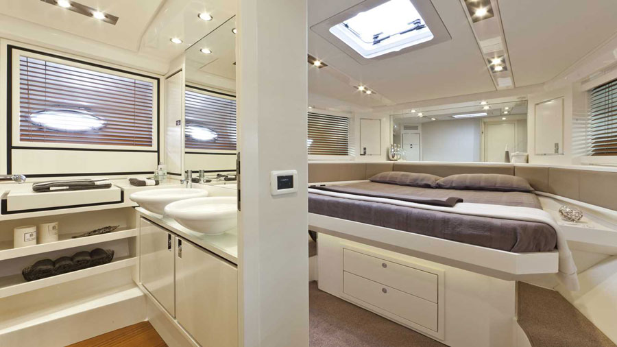 Yachts middle east - ITAMA 62 - interior - 2