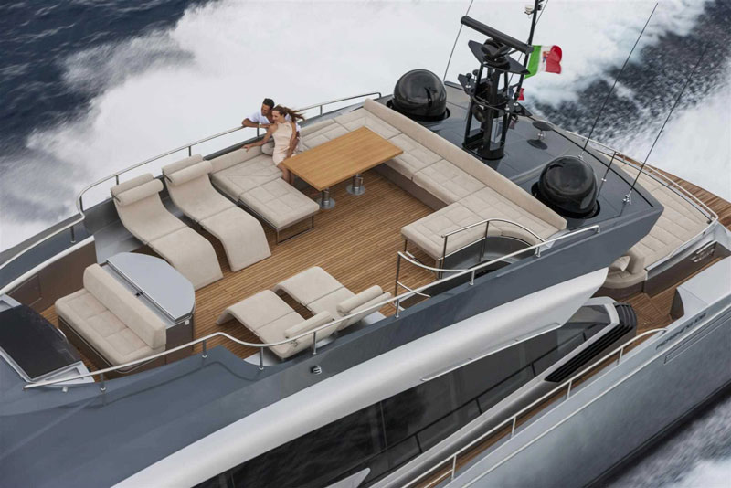 Yachts middle east - pershing 108 - 7