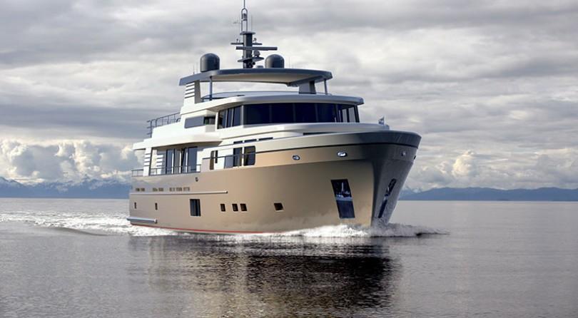 More than a Trawler, a Continental Trawler Yacht!
