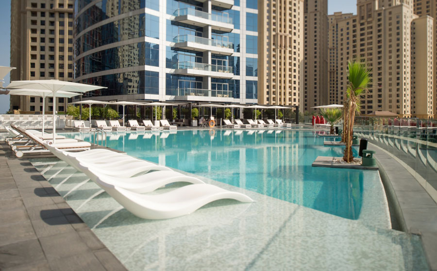 yachts middle east - Destinations - intercontinental dubai marina bay central