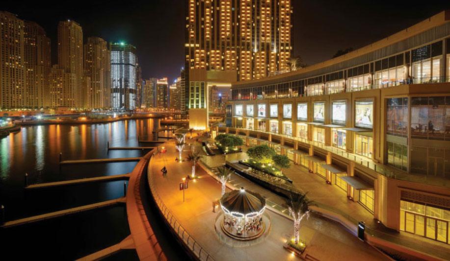 yachts middle east - Destinations - Dubai marina - marina mall