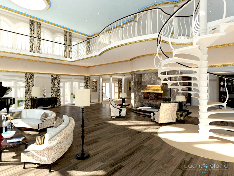 Yachts middle east - The streets of monaco - yacht island design - BMT Nigel Gee - owners