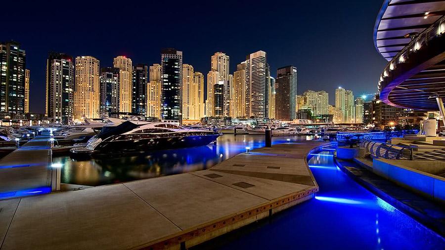 yachts middle east - Destinations - Dubai marina - yacht club