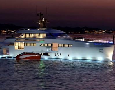 Wider 165 بطول 50 متر الجديد من قبل Wider Yachts