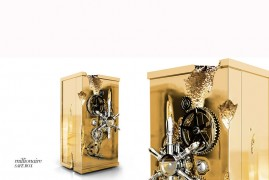 Limited Edition Millionaire Safe by Boca do Lobo