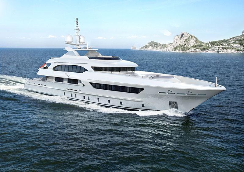 yachts middle east - Heesen Yachts - Ruya