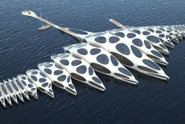The floating hotel that could be the future of cruising