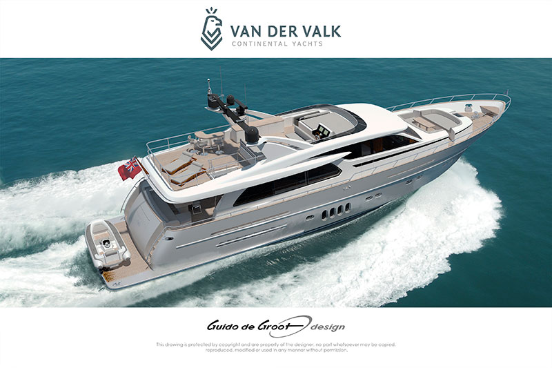 yachts middle east - Van der Valk - Continental two - Guido de Groot design