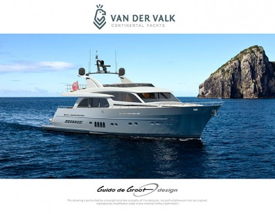 "Van der Valk Continental Yachts announces new order 27-metre yacht ""Continental Two"" for experienced owner"