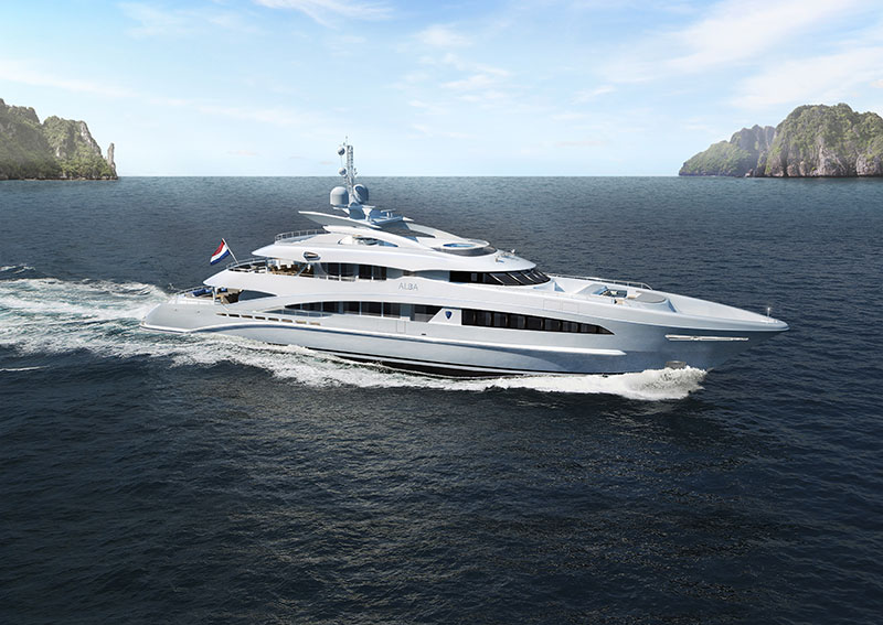 Yachts middle east - heesen yachts - project Alba