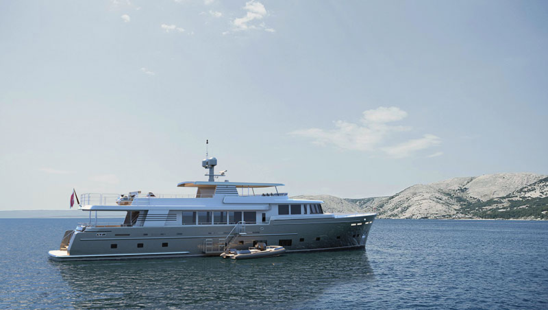 yachts middle east - Santa Maria T - Continental Trawler