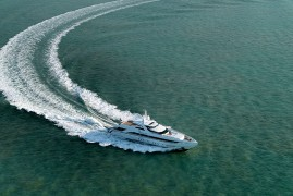 Heesen Yachts delivers 45m semi-displacement sports yacht YN 17145 Amore Mio