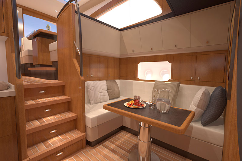 yachts middle east - Guido de Groot - MTB interior design
