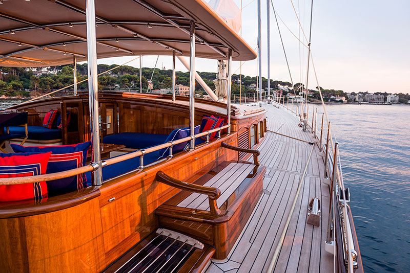 yachts middle east - Claasen Shipyard - Atalante exterior