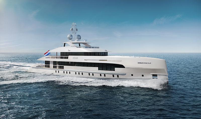 yachts middle east - Heesen yachts - Project Nova ship