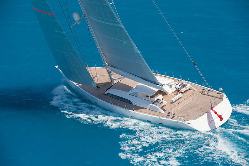 yachts middle east - Vitters Shipyard - St Barths Bucket