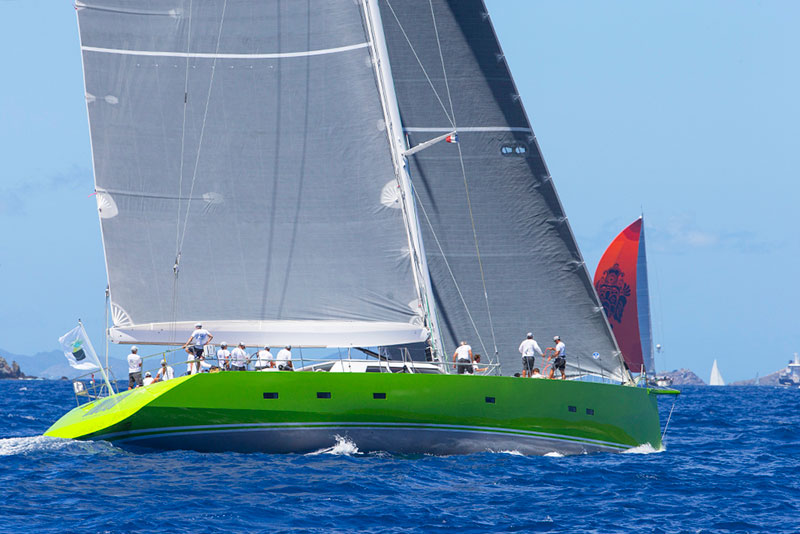 yachts middle east - Vitters Shipyard - St Barths Bucket victory