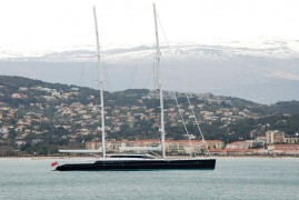 Vitters Shipyard and Oceanco Deliver the 85m S/Y AQUIJO