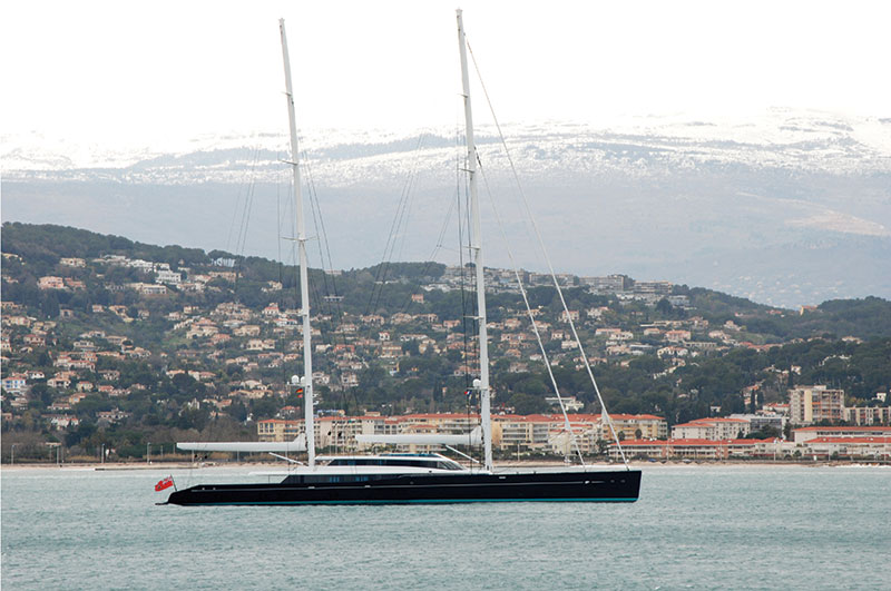 yachts middle east - Vitters Shipyard - 85m S/Y AQUIJO