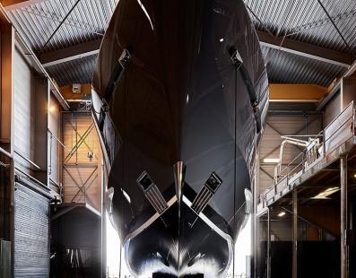 اطلقت شركة Heesen Yachts يخت رقم 17650، مشروع Akoya