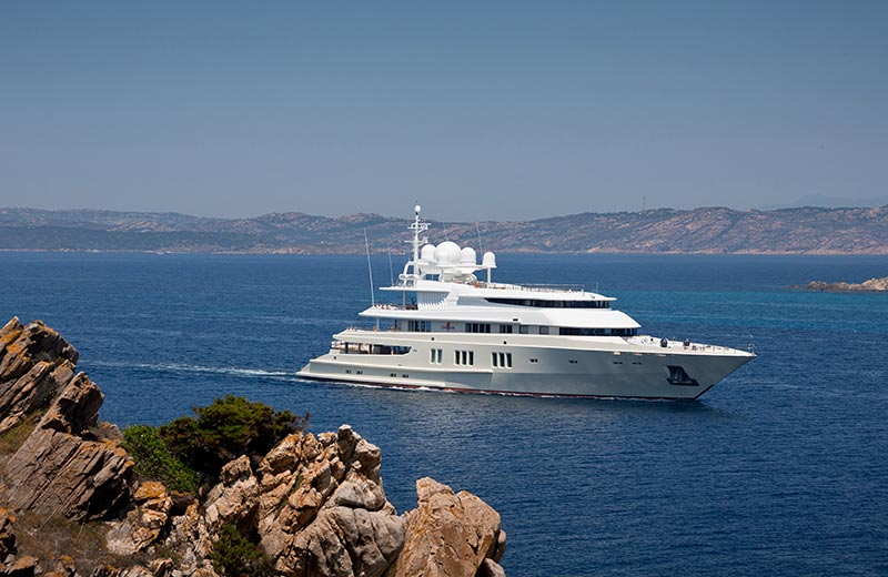 Yachts Middle East - Lurssen - Coral Ocean a 22 year old yacht