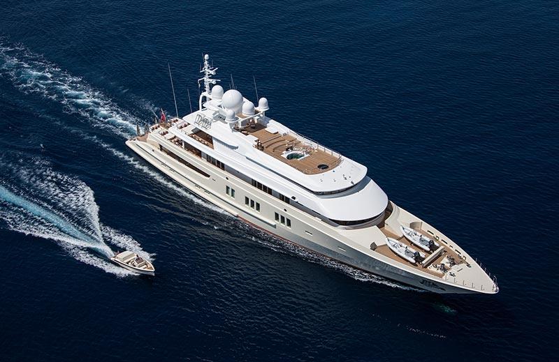 Yachts Middle East - Lurssen - Coral Ocean